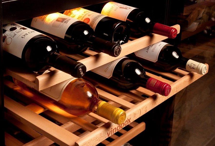 Vinotecas – bandeja extraible