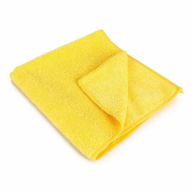 Bayeta de microfibra multiusos ecológica color amarillo