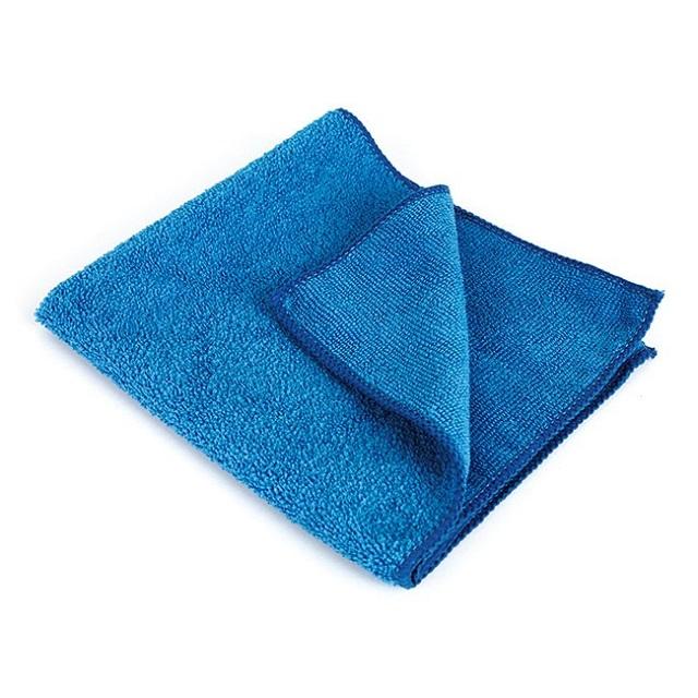Bayeta de microfibra multiusos ecológica color azul