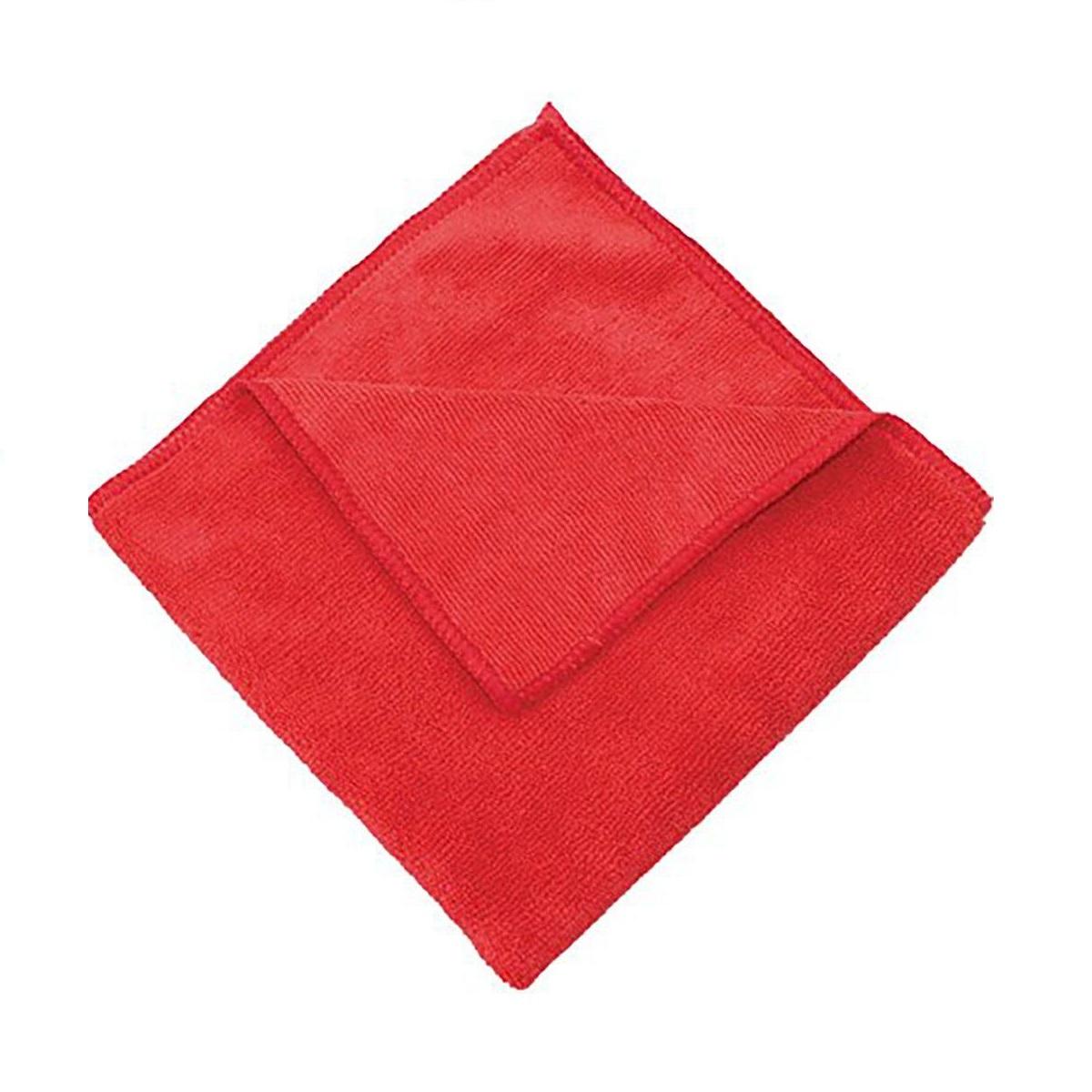 Bayeta de microfibra multiusos ecológica color rojo