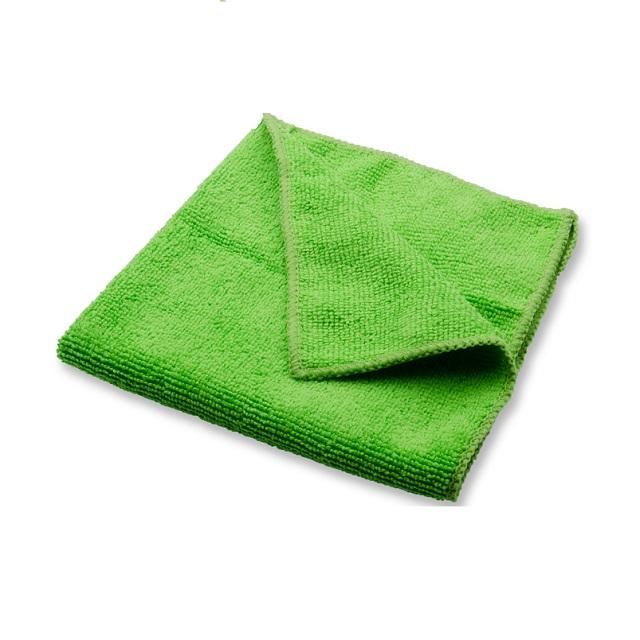 Bayeta de microfibra multiusos ecológica color verde