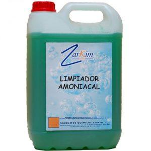 Limpiador amoniacal biodegradable multiusos