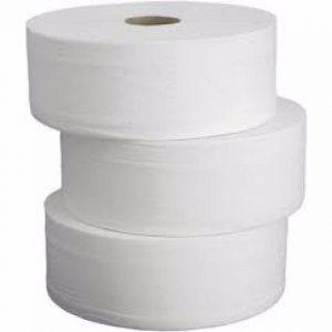 Papel higiénico tamaño industrial celulosa de 25 paquete de 18 unidades