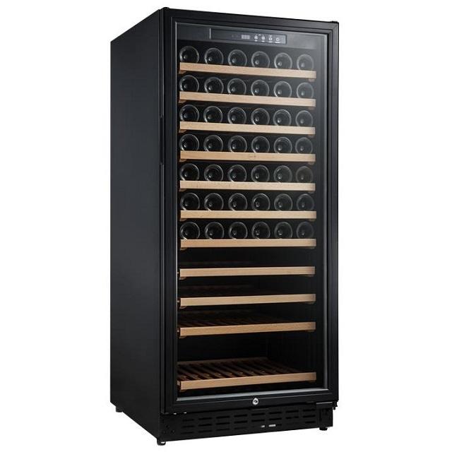 Armario climatizado para vinos Vinobox 110GC 1T color negro