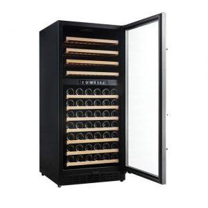 Armario climatizado para vinos Vinobox 110GC 2T color negro