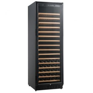 Armario climatizado para vinos Vinobox 168GC 1T color negro