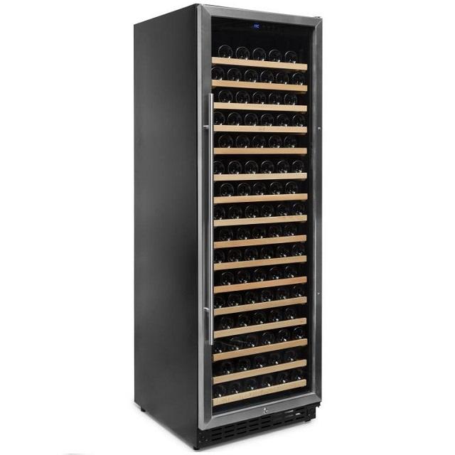 Armario climatizado para vinos Vinobox 168GC 1T inox - de lado