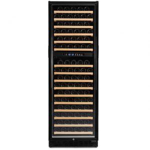 Armario climatizado para vinos Vinobox 168GC 2T color negro