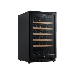 Armario climatizado para vinos Vinobox 40GC 1T color negro