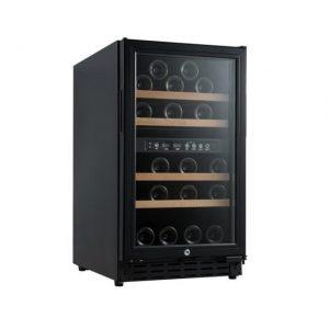 Armario climatizado para vinos Vinobox 40GC 2T color negro