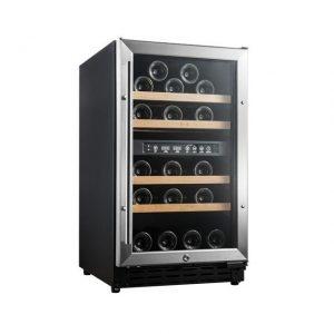 Armario climatizado para vinos Vinobox 40GC 2T inox