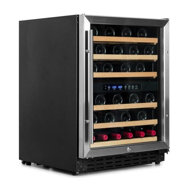 Armario climatizado para vinos Vinobox 50GC 2T inox - de lado