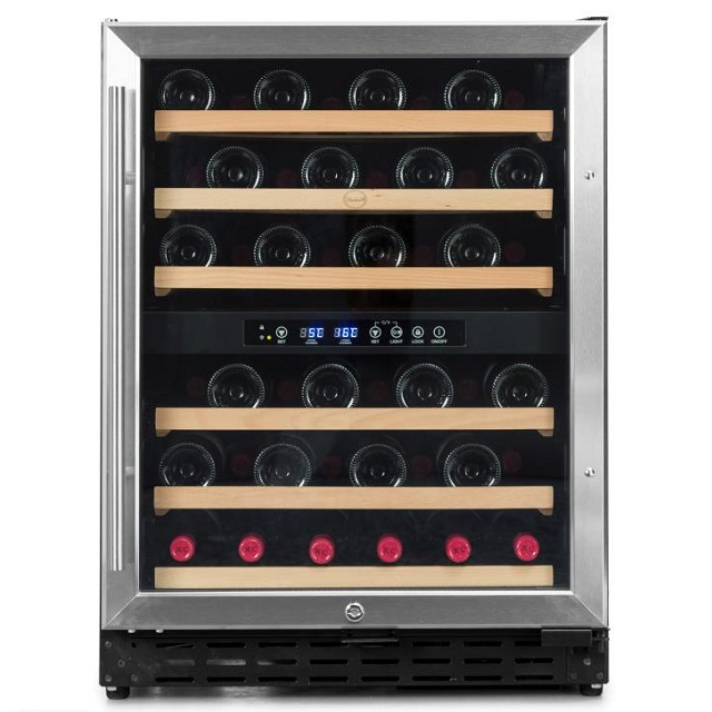 Armario climatizado para vinos Vinobox 50GC 2T inox