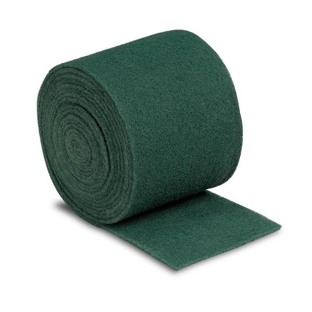 Estropajo verde en rollo de 6 metros recortable