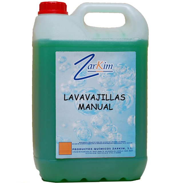 Lavavajillas a mano concentrado ph neutro