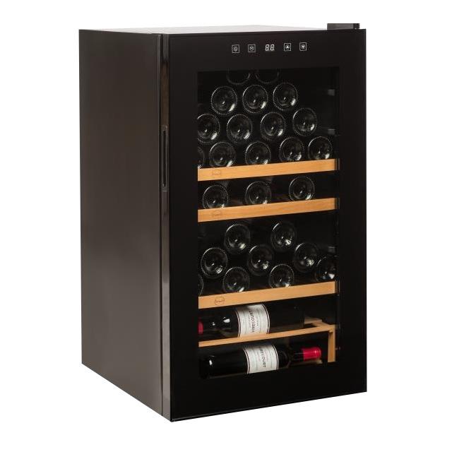 Nevera para vinos económica - Vinobox 48PRO - de lado