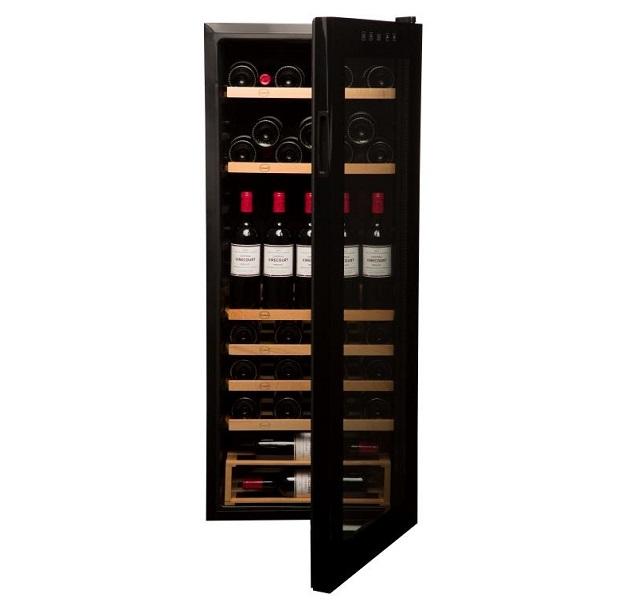Nevera para vinos económica - Vinobox 96PRO - de frente puerta abierta