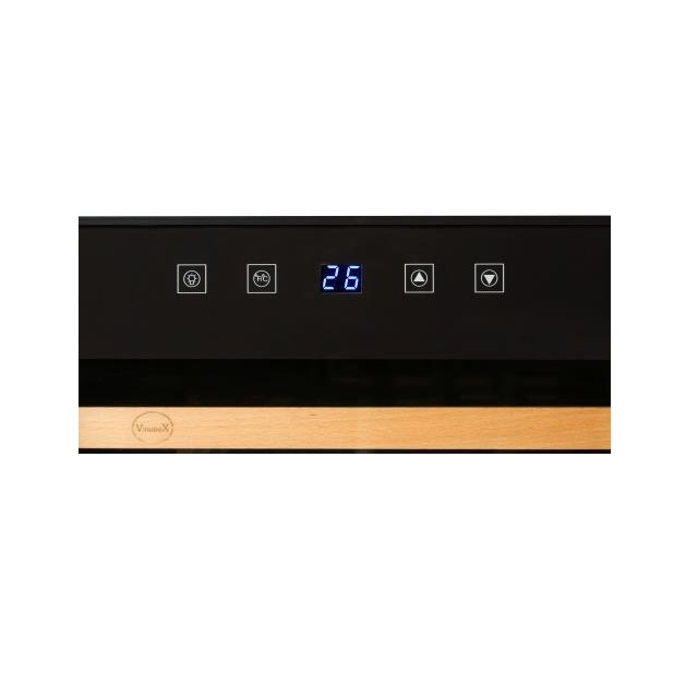 Nevera para vinos económica - Vinobox 96PRO - display digital