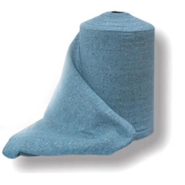 Rollo de bayeta de punto color azul especial planchas