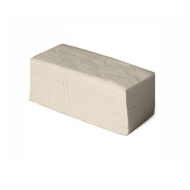 Toallas de papel secamanos natural en zig zag caja 24x180ud