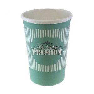 Vasos de papel para caf? con leche de 192ml caja de 1000ud