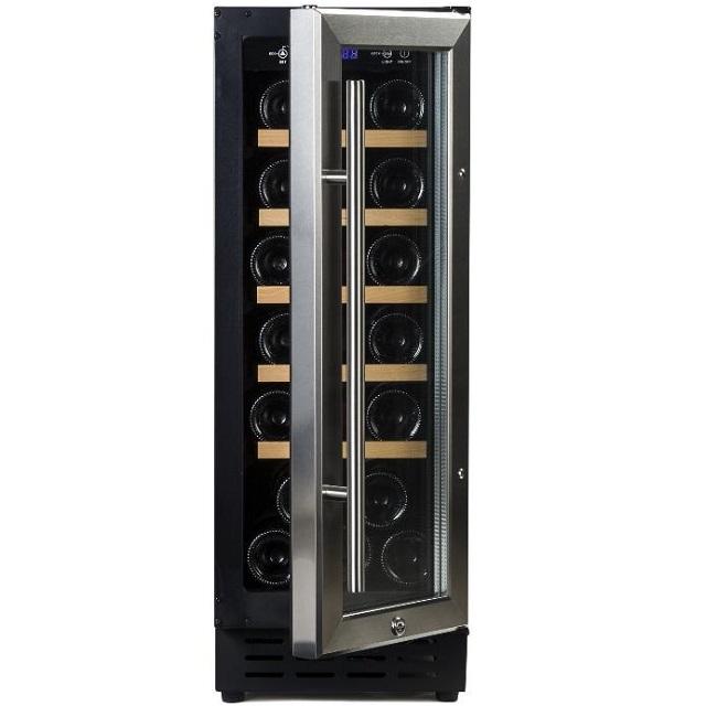 Vinoteca de diseño - Vinobox 20 Design - de lado puerta abierta