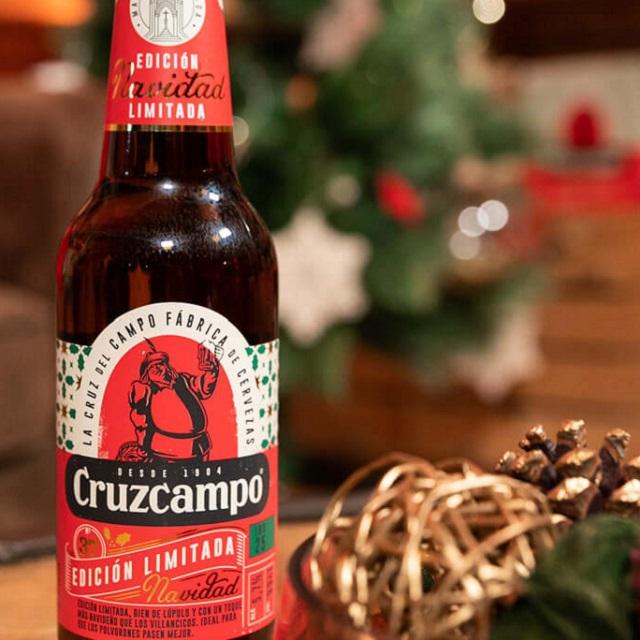 Cerveza CruzCampo Edición Limitada Navidad