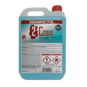 Higienizante hidroalcohólico 5 litros - Desinfectol Dos Castillas