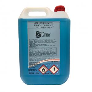 Gel desinfectante de manos hidroalcohólico 70 - garrafa 5 litros