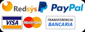 Pago seguro con TPV Virtual y Paypal