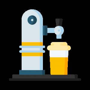 Tiradores, dispensadores y grifos de cerveza