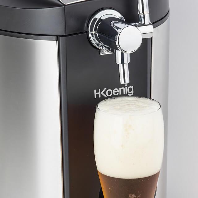 Tirador de cerveza para casa compacto