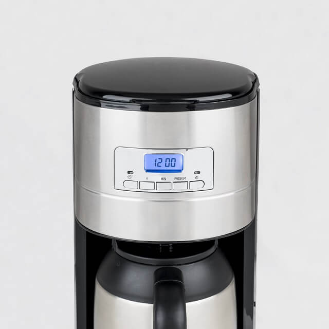 Cafetera de goteo programable isotérmica 1,2 litros HKoenig STW26