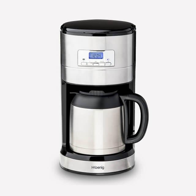 Cafetera de goteo programable isotérmica 1,2 litros