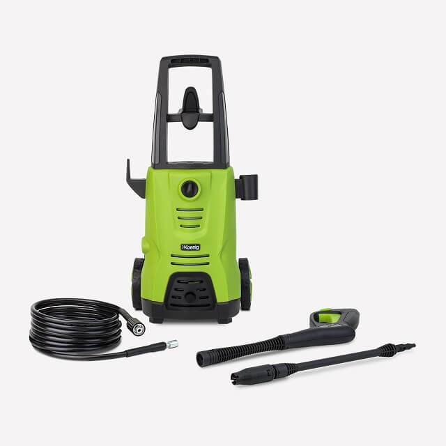 Limpiadora a presión portátil con chorro de agua, niebla o abanico plano HKoenig HWP3 - piezas