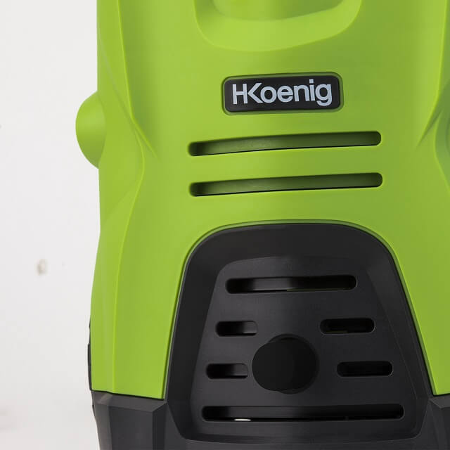 Limpiadora a presión portátil con chorro de agua, niebla o abanico plano HKoenig HWP3