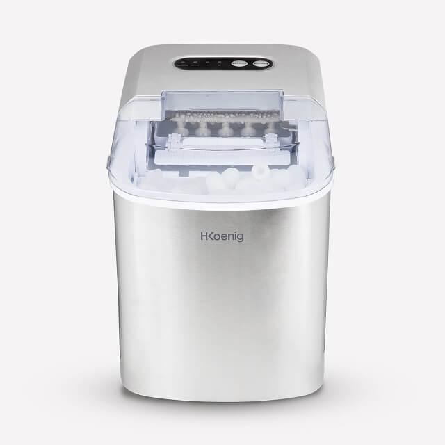 Máquina para hacer cubitos de hielo de 2 tamaños HKoenig KB14
