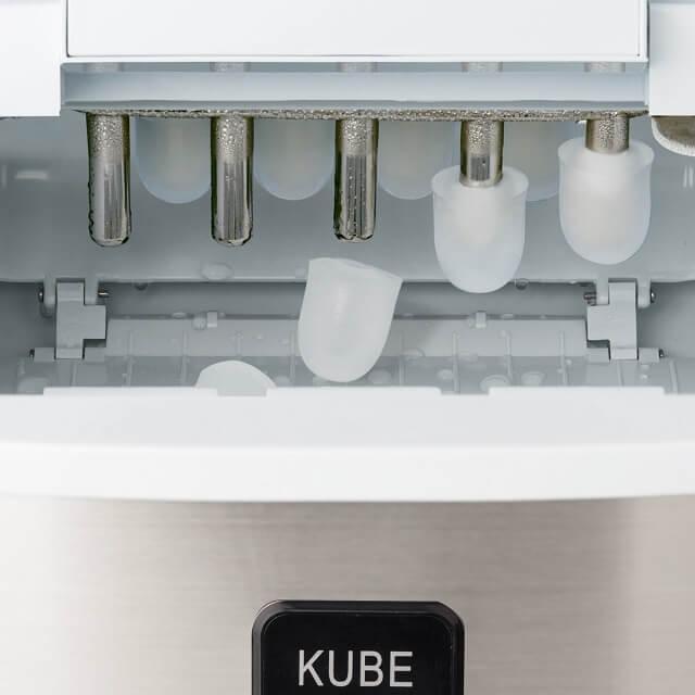 Máquina para hacer hielo en cubitos de 3 tamaños HKoenig