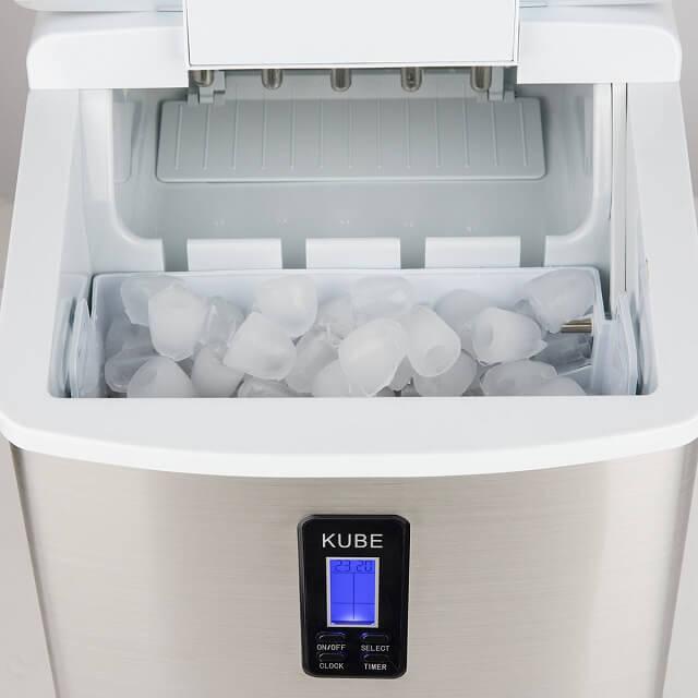 Máquina para hacer hielo en cubitos de 3 tamaños