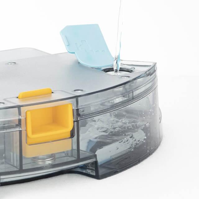 Robot aspirador con doble cepillo y función de fregado WaterMop Gyro plus - opción de fregado