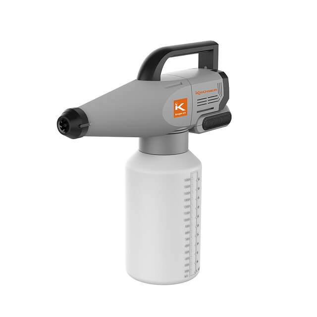 Nebulizador desinfectante portátil con batería recargable